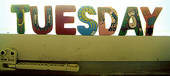 Today is Tuesday