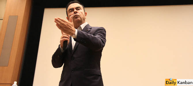 Carlos Ghosn  Japan Chamber of Commerce -25- Picture courtesy Bertel Schmitt