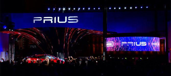 Prius reveal Las Vegas