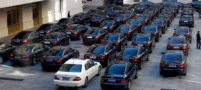 Audis in China - Picture courtesy germancarforum.com