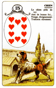 18 dog lenormand