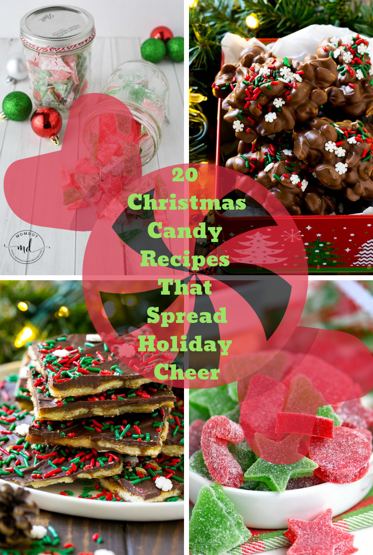 20 Christmas Candy Recipes That Spread Holiday Cheer