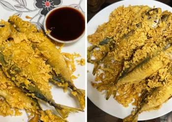 Resipi Ikan Celup Tepung
