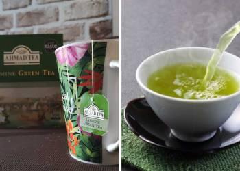 Minum Green Tea