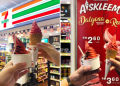 aiskrim dalgona in red 7 eleven