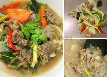 Sup Daging Thai
