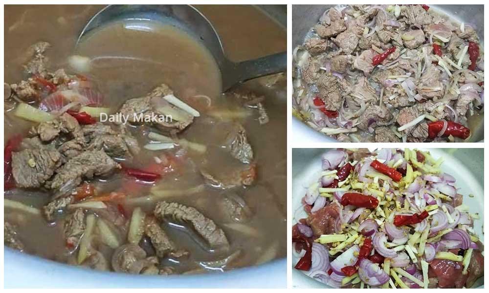 Singgang Daging Kelantan Yang Mudah Dan Sedap Sekali Makan Memang Terpana Ini Dia Resepinya Daily Makan
