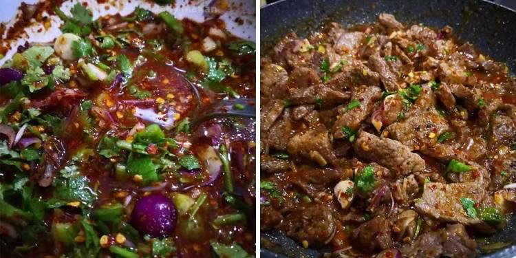resepi daging goreng Thai