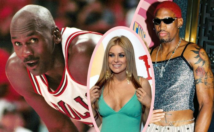 In one incident Electra hid behind a sofa from basketball icon Michael Jordan when he came looking for his teammate, Dennis Rodman.