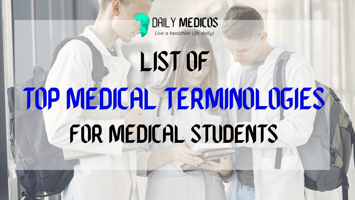 List of Top Medical Terminology PDF