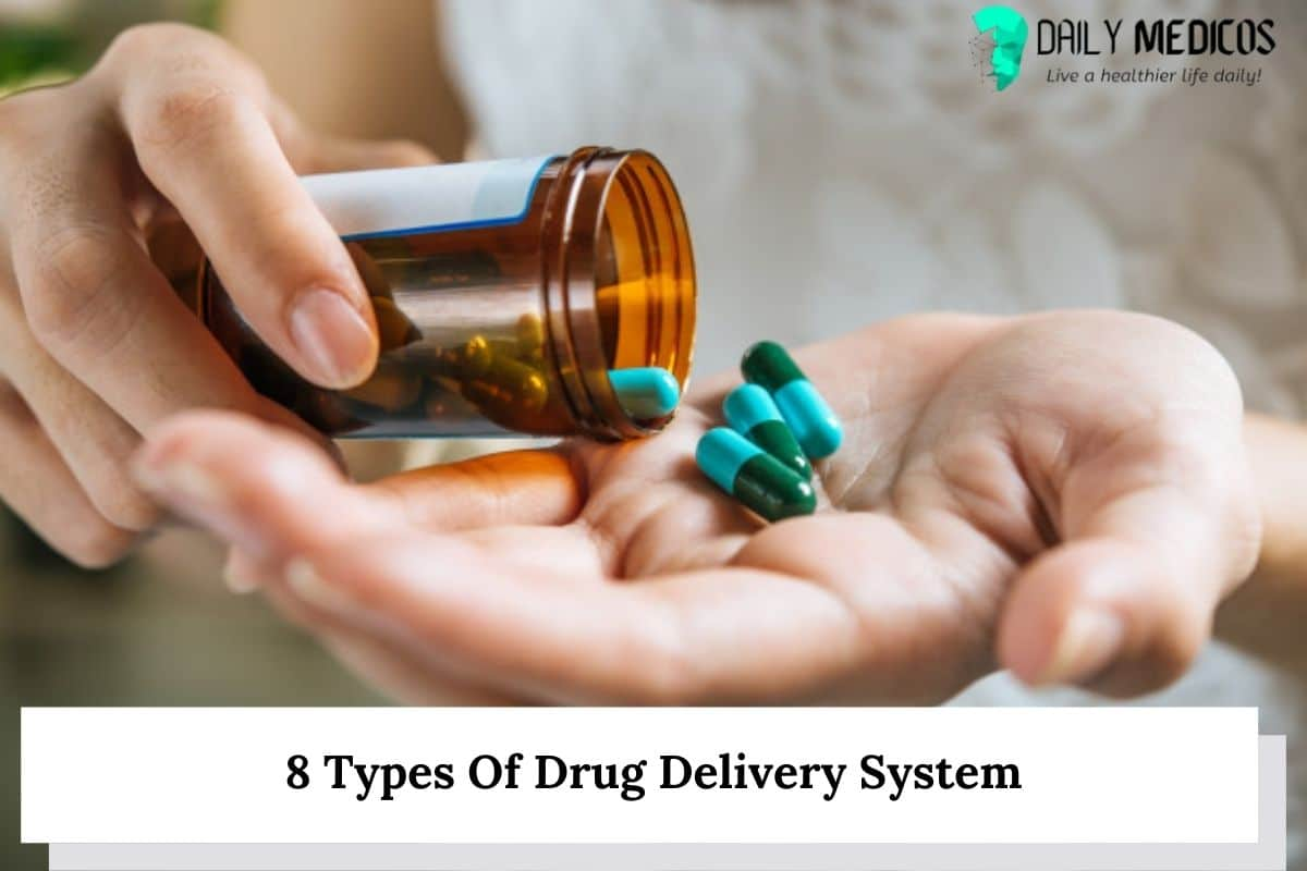 8 Types Of Drug Delivery System 20 - Daily Medicos
