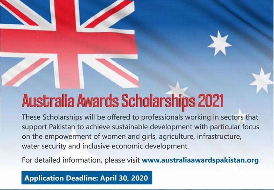 Apply for Australia Awards Scholarship 2021 for Pakistani Students 2 - Daily Medicos
