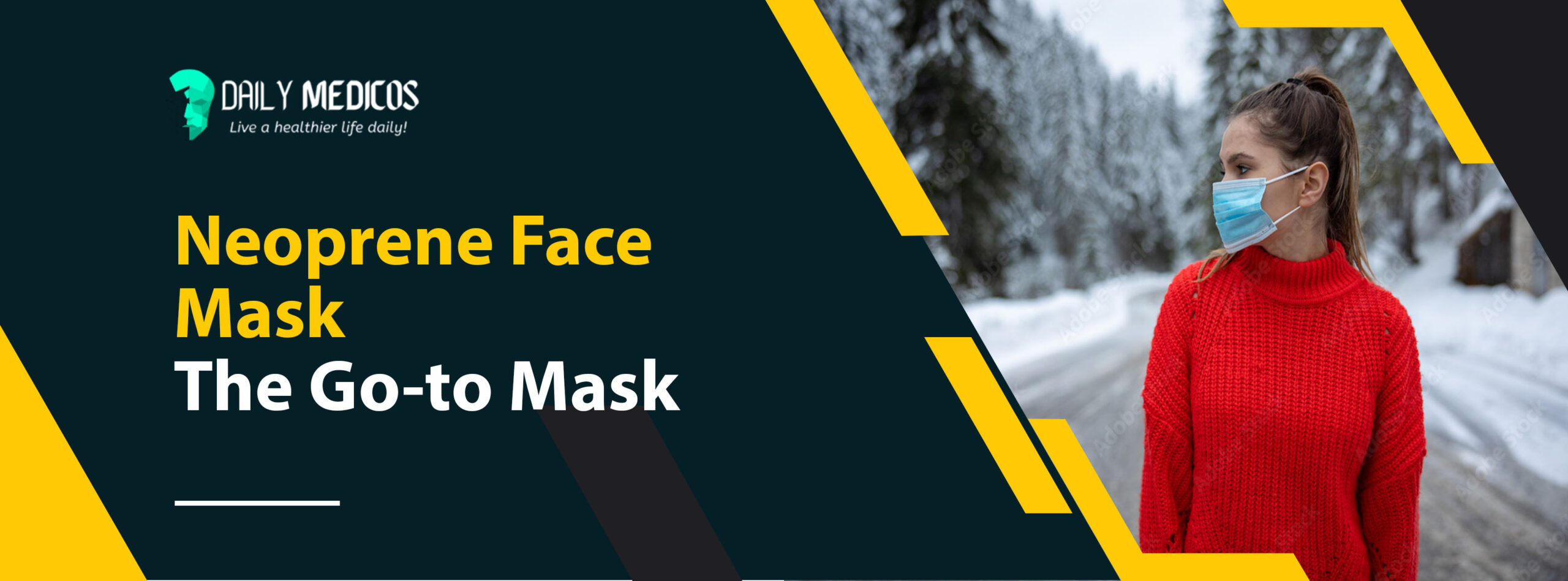 Neoprene Face Mask: The Go-to Mask [Choose The Best for Yourself] 1 - Daily Medicos