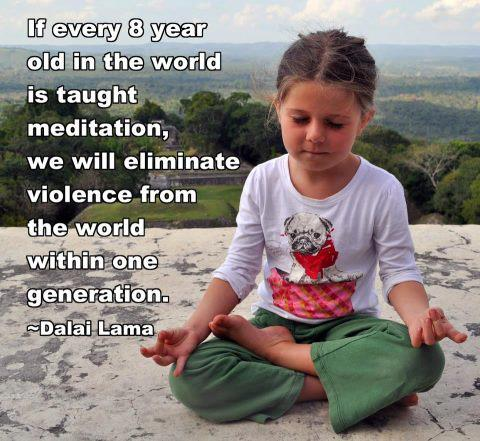 Dalai Lama Every 8 Year Old Quote Picture at DailyMeditate.com
