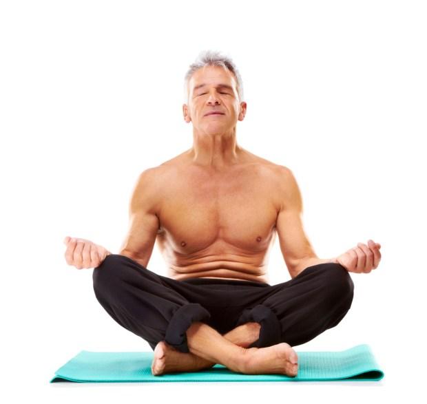 Man In Meditation Position at DailyMeditate.com