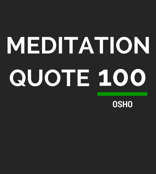 Meditation Quote 100