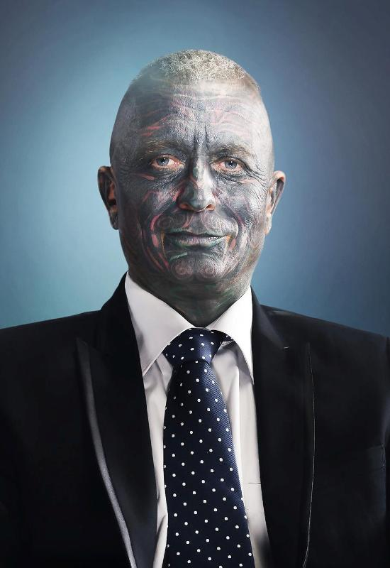 Tattoo Faced Candidate  Most Tattooed Man to Ever Run For President  DailyMilk