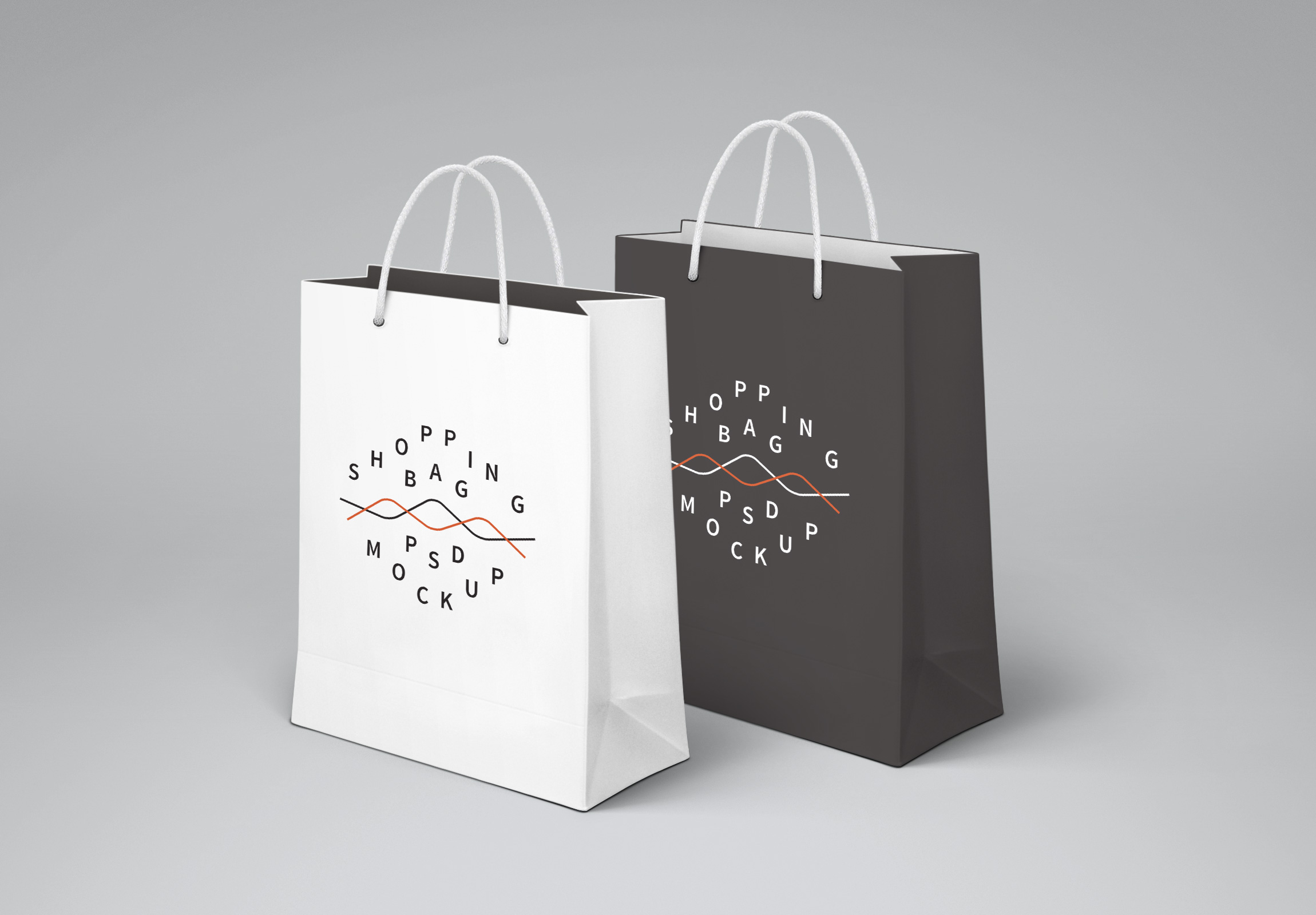 Free duffle bag mockup to showcase your design in a photorealistic style. Free Shopping Paper Bag Mockup Psd 2021 Daily Mockup