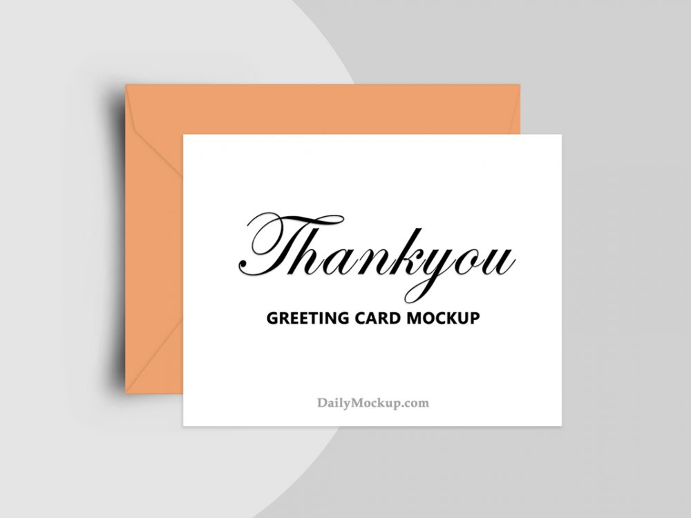 greeting card mockup free psd 2021