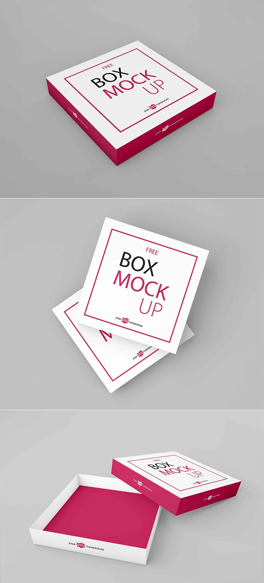 Download Free Square Box Mockup 2020 - Daily Mockup