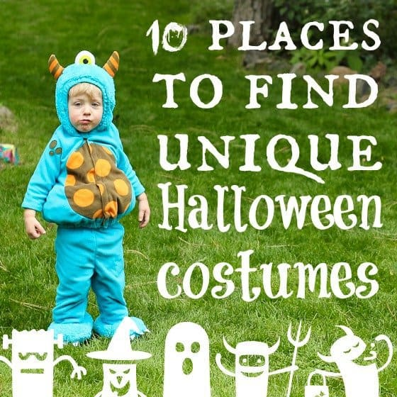 10 Places To Find Unique Halloween Costumes » Daily Mom