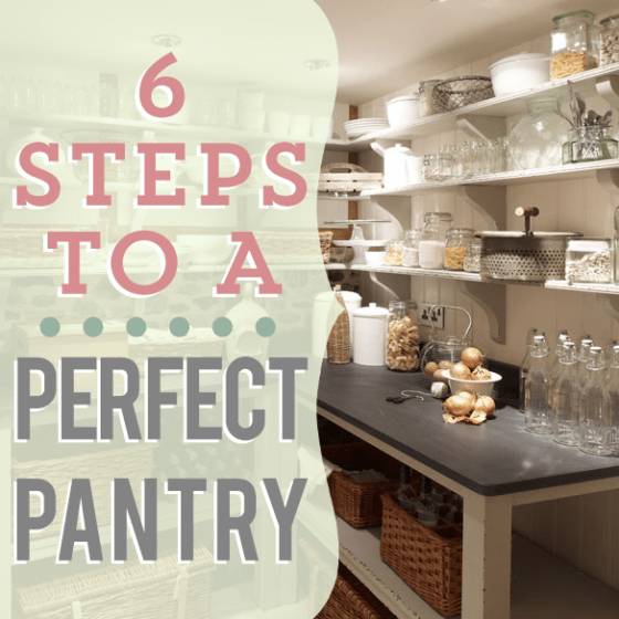 9 Tips For A Perfectly Organized Pantry: ORGANIZATION » Daily Mom