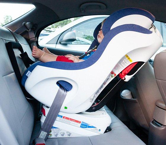 Clek Foonf Convertible Car Seat Rear Facing 2