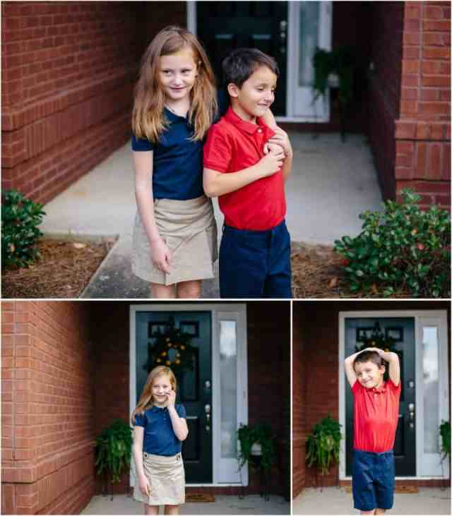 Old Navy – Uniforms Collage