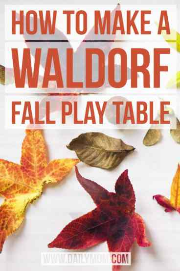 how to make a waldorf play table