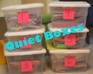 Quiet Boxes for Kids