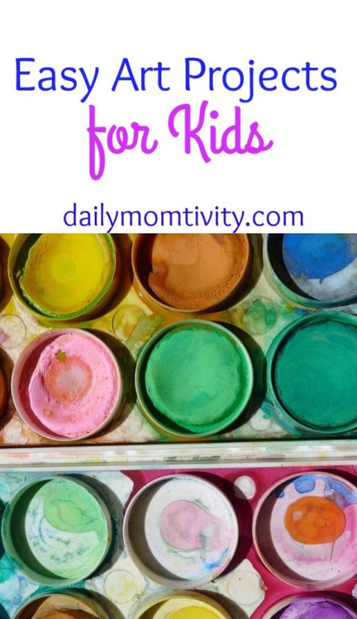 Easy and Fun Art Projects that kids will love!