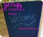 Getting Crafty with Chalkboard Paint