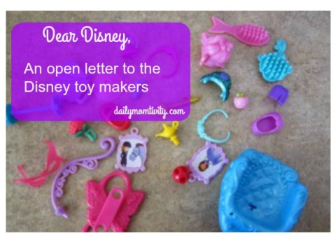 An open letter to the Disney toy makers