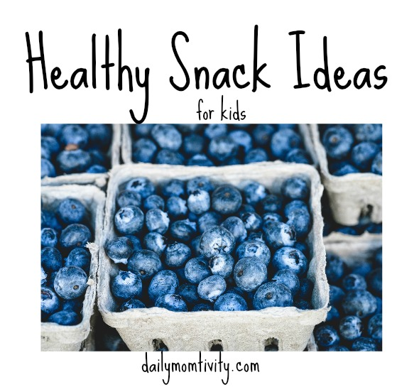 Healthy Snack options for your kids