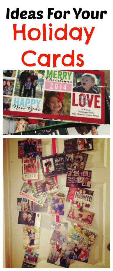 Don't throw all those pretty Christmas cards away! Here are some ideas on how to use them!