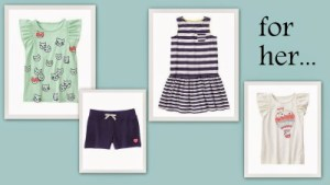 Gymboree's  Hop 'n' Roll Clothing Line