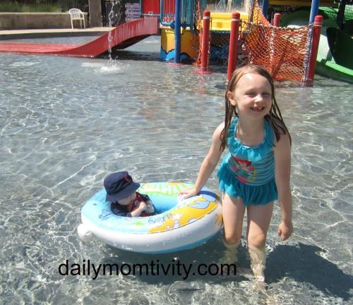 3 Kids, a Swimming Pool and a Whole Lotta Stuff