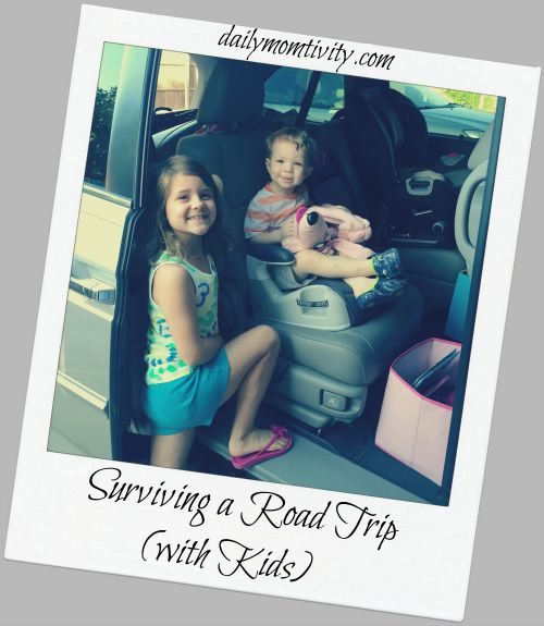 Surviving a Long Road Trip {With Kids}