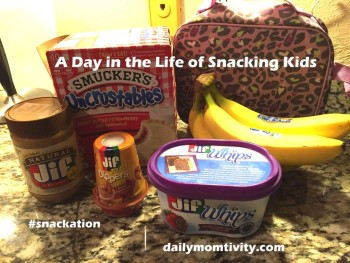 A Day in the Life {of Snacking Kids}