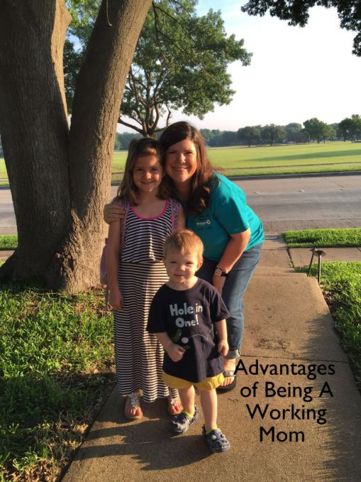 Advantages of Being a Working Mom/ dailymomtivity