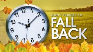 Unconventional Reminders at Daylight Savings Time