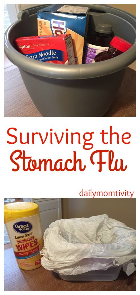 tips and tricks on surviving the stomach bug