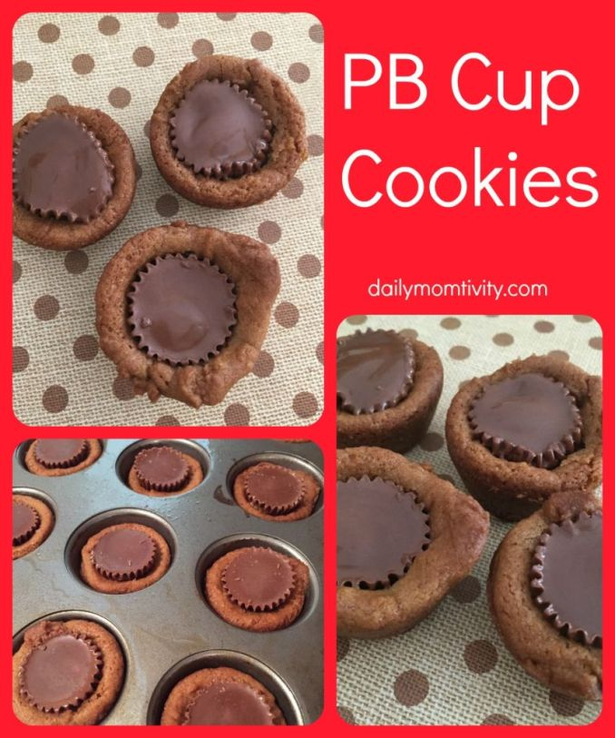 PB cup cookies perfect for your cookie exchange