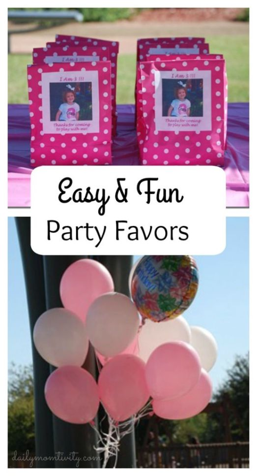 easy party favors kids will love #dailymomtivity