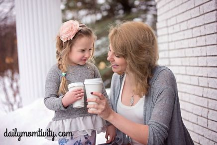 momanddaughter coffee