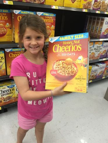Honey Nut Cherrios at Walmart