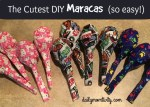 The Cutest DIY Maracas (so easy!)