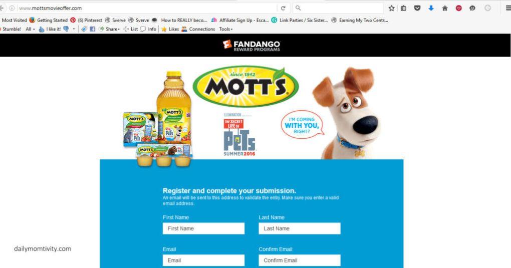 Motts Movie Ticket Offer - Mozilla Firefox 622016 30535 PM