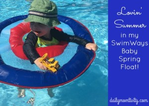 Lovin' Summer in My SwimWays Baby Spring Float