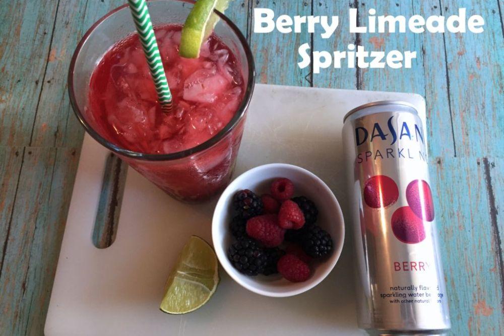 Berry Limeade Spritzer